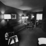Room Where Actress Lana Turner's Daughter Stabbed Gangster Johnny Stompanato to Death Photographic Print by J. R. Eyerman