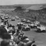 Lemans Road Race Photographic Print