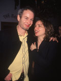 Tennis Player John Mcenroe with Wife Patty Smyth Premium Photographic Print by Dave Allocca