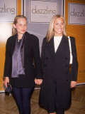 Fashion Designer Alexandra Von Furstenberg and Mother Pia Getty Premium Photographic Print by Dave Allocca