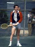 Tennis Pro John Mcenroe Premium Photographic Print by David Mcgough