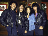 Members of Heavy Metal Rock Group, Black Sabbath Premium fototryk