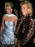 Socialite Ivana Trump and Tennis Player Martina Navratilova Premium Photographic Print