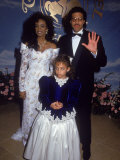 Brenda Richie, Daughter Nicole Richie and Singer Lional Richie Premium Photographic Print