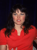 Actress Lucy Lawless at Kids' Day at Fao Schwartz, a Fundraiser for Beth Israel Premium Photographic Print by Dave Allocca