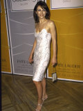 Actress Elizabeth Hurley at Estee Lauder Function Premium Photographic Print by Dave Allocca