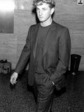 Actor Sean Penn Wearing a Suit Premium Photographic Print