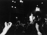 Musician Iggy Pop in Concert Premium Photographic Print