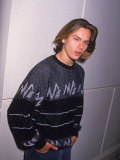 Actor River Phoenix Premium Photographic Print by David Mcgough