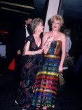 Actress Tippi Hedren with Daughter, Actress Melanie Griffith Premium Photographic Print