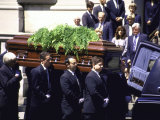 Former First Lady Jackie Kennedy Onassis's Funeral Premium Photographic Print by Dave Allocca