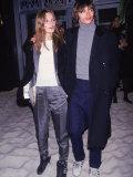 Model Kate Moss and Boyfriend, Photographer Mario Sorrenti プレミアム写真プリント