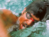 US Olympic Team Swimmer Mark Spitz in Training for Munich Summer Olympics Premium Photographic Print