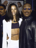 Comedian Actor Eddie Murphy and Wife, Nicole Mitchell Premium Photographic Print by Mirek Towski