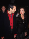 "Actor Daniel Day-Lewis with Wife Rebecca at Film Premiere of ""The Crucible"" Premium Photographic Print by Mirek Towski"