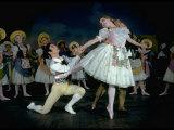 """La Fille Mal Gardee"" Danced by Alexander Grant, David Blair and Nadia Nerina of the Royal Ballet Premium Photographic Print by Gjon Mili"