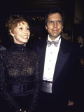 Actress Mary Tyler Moore and Husband, Dr. Robert Levine Premium Photographic Print by Dave Allocca