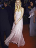 Actress Gwyneth Paltrow ,Wearing Pink Gucci Gown, at Screen Actors Guild Awards Premium Photographic Print by Mirek Towski