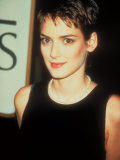 Actress Winona Ryder Premium Photographic Print by Kevin Winter