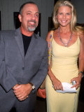 Singer Songwriter Billy Joel and Ex-Wife, Model Christie Brinkley, at Star Benefit Premium Photographic Print by Dave Allocca