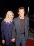 Josh Brolin and Girlfriend Alice Adair Premium Photographic Print