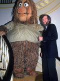 Muppets Creator Jim Henson with One of His Characters, Grog Premium Photographic Print