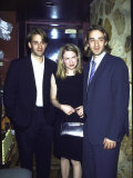 Actors Jonas Pate, Renee Zellweger and Josh Pate at the Film Premiere of &quot;Deceiver&quot; Premium Photographic Print by Dave Allocca