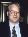 Actor Philip Seymour Hoffman at Film Premiere of &quot;Patch Adams&quot; Premium Photographic Print by Dave Allocca