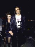 Actress Singer Liza Minnelli and Husband Mark Gero Premium Photographic Print by David Mcgough