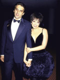 Mark Gero and Wife, Actress Singer Liza Minnelli Premium Photographic Print