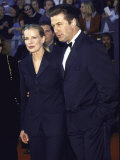 Married Actors Kim Basinger and Alec Baldwin Premium Photographic Print by Mirek Towski