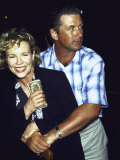 Married Actors Kim Basinger and Alec Baldwin Premium Photographic Print by Dave Allocca
