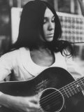 Cree Indian Folk-Singer Buffy Sainte-Marie Premium Photographic Print