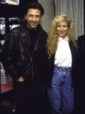 Actors Alec Baldwin and Kim Basinger Premium Photographic Print