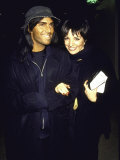 Fashion Photographer Steven Meisel and Actress Singer Liza Minnelli Premium Photographic Print