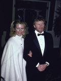 Actress Kim Bassinger and Husband, Ron Britton Premium Photographic Print
