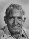 "Actor Spencer Tracy During Time of Filming ""Bad Day at Black Rock"" Premium Photographic Print by J. R. Eyerman"