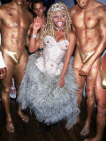Rap Artist Lil' Kim Premium Photographic Print by Dave Allocca