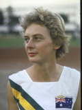 Australian Track Star Betty Cuthbert at Summer Olympics Premium Photographic Print