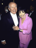 Playwright Terrence Mcnally and Actress Singer Liza Minnelli Premium Photographic Print by Dave Allocca