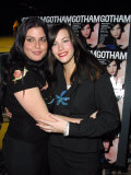 Actress Liv Tyler with Sister Mia at Launch of Magazine Gotham Premium Photographic Print by Marion Curtis