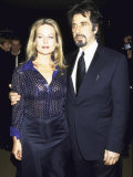 Actors Beverly D'Angelo and Al Pacino at Film Society Tribute to Him Premium Photographic Print by Dave Allocca