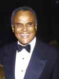 Singer Harry Belafonte Premium Photographic Print by David Mcgough