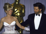 Actors Kim Basinger and Alec Baldwin in Press Room at the Academy Awards Premium Photographic Print
