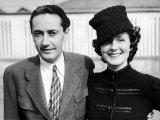 Studio Executive Irving Thalberg and Wife, Actress Norma Shearer Premium Photographic Print