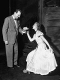 "Karl Malden and Jessica Tandy in the Broadway Production Play ""Streetcar Named Desire"" Premium Photographic Print"