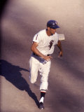 Chicago White Sox Outfielder Jim Landis Running During White Sox-Cleveland Game Premium Photographic Print