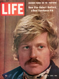 Life 2-6-1970 Cover of Actor Robert Redford, Cr: John Dominis Premium Photographic Print by John Dominis