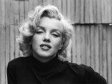 Actress Marilyn Monroe Kunst på metall av Alfred Eisenstaedt