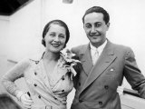 Film Director Irving Thalberg and Wife, Actress Norma Shearer Premium Photographic Print
